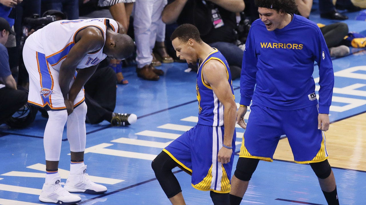 Warriors Force Game 7 After Dominating Fourth Quarter