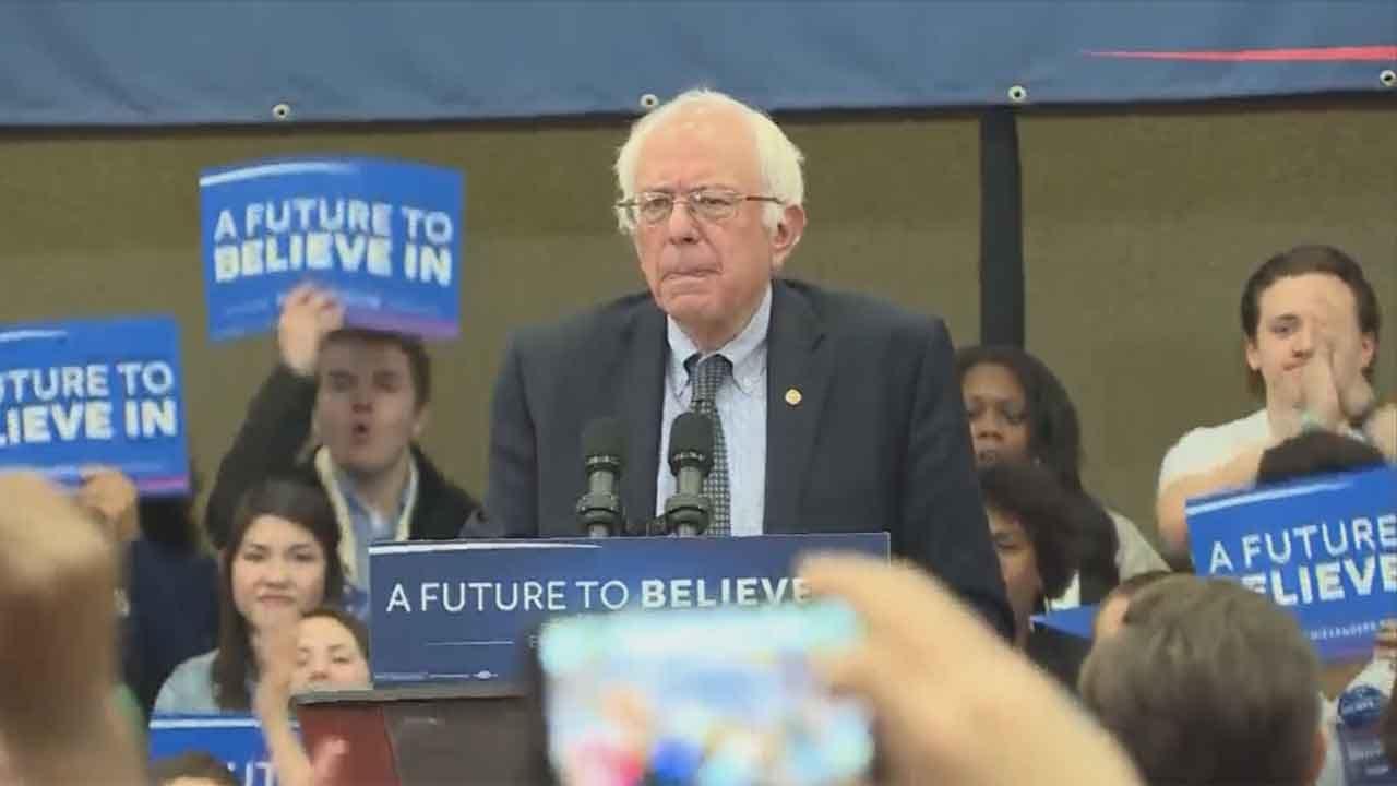 CBS News Projects Bernie Sanders As Winner Of Indiana Democratic Primary