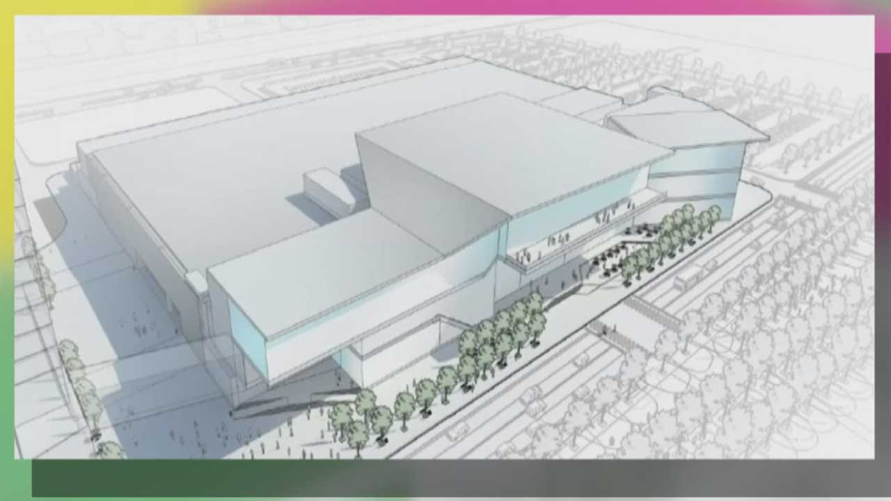 OKC City Council Passes Convention Center Conceptual Design