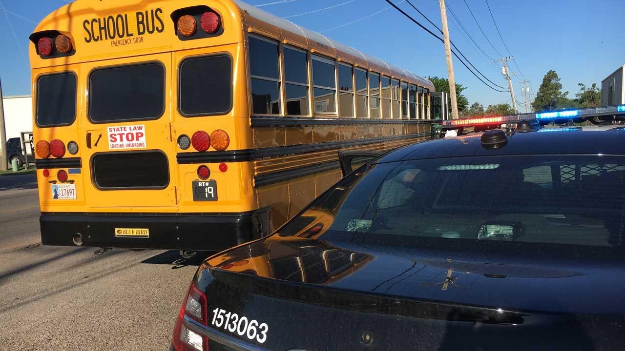 School Bus Involved In Crash In West Oklahoma City