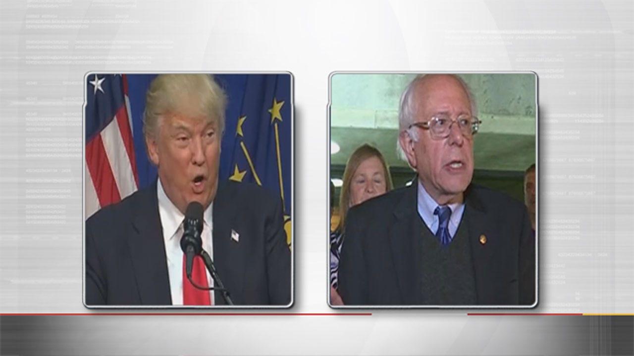 Trump, Sanders Win Indiana Primaries