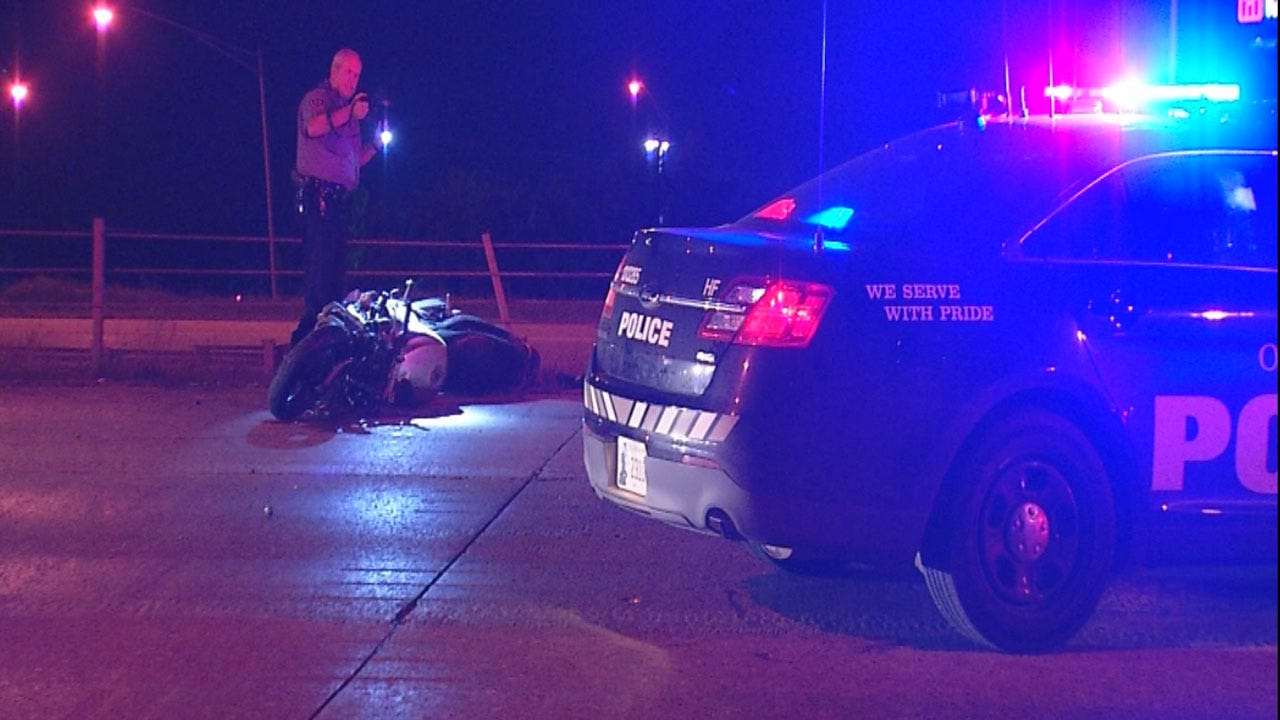 Motorcyclist Crashes After Leading Police On Chase Through OKC