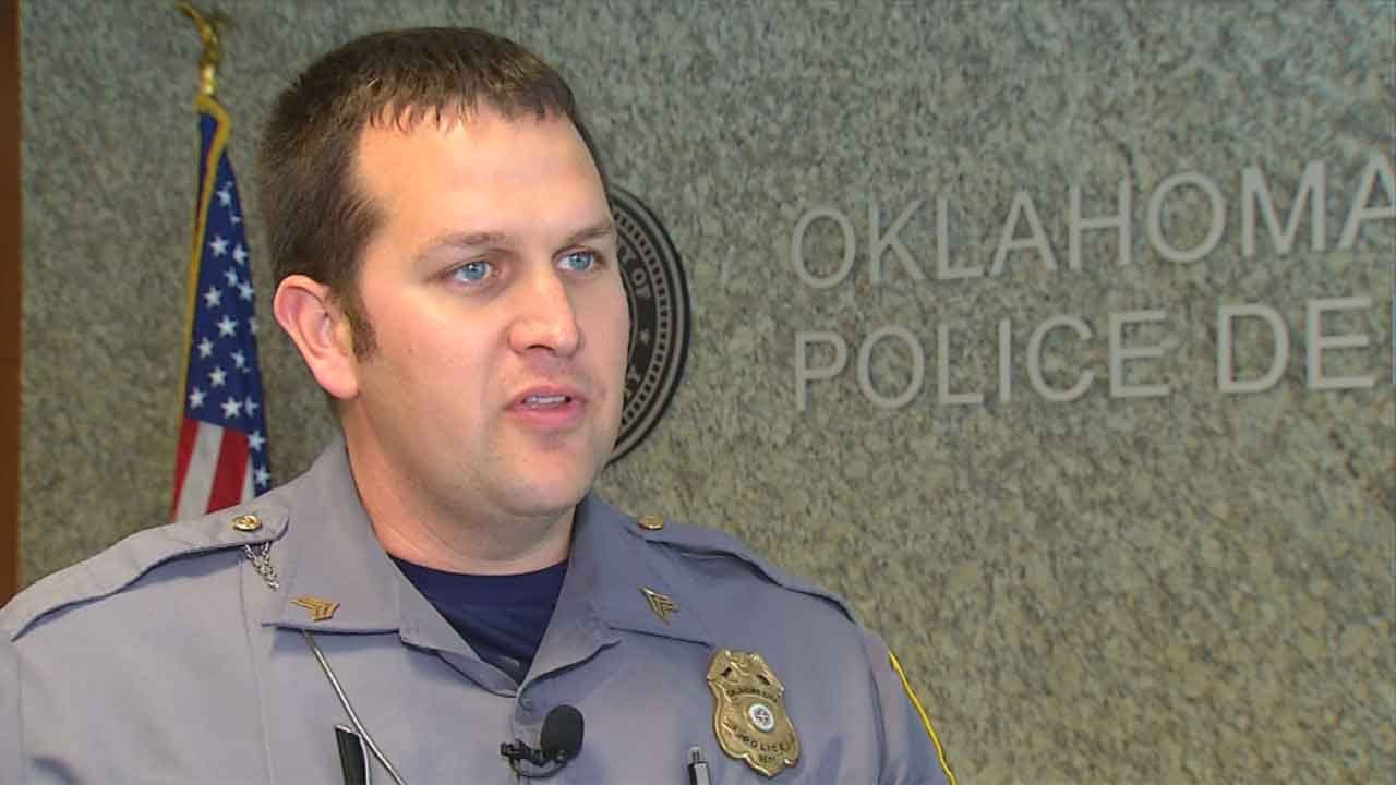 OKC Police Officer Honored For Saving Suicidal Man's Life