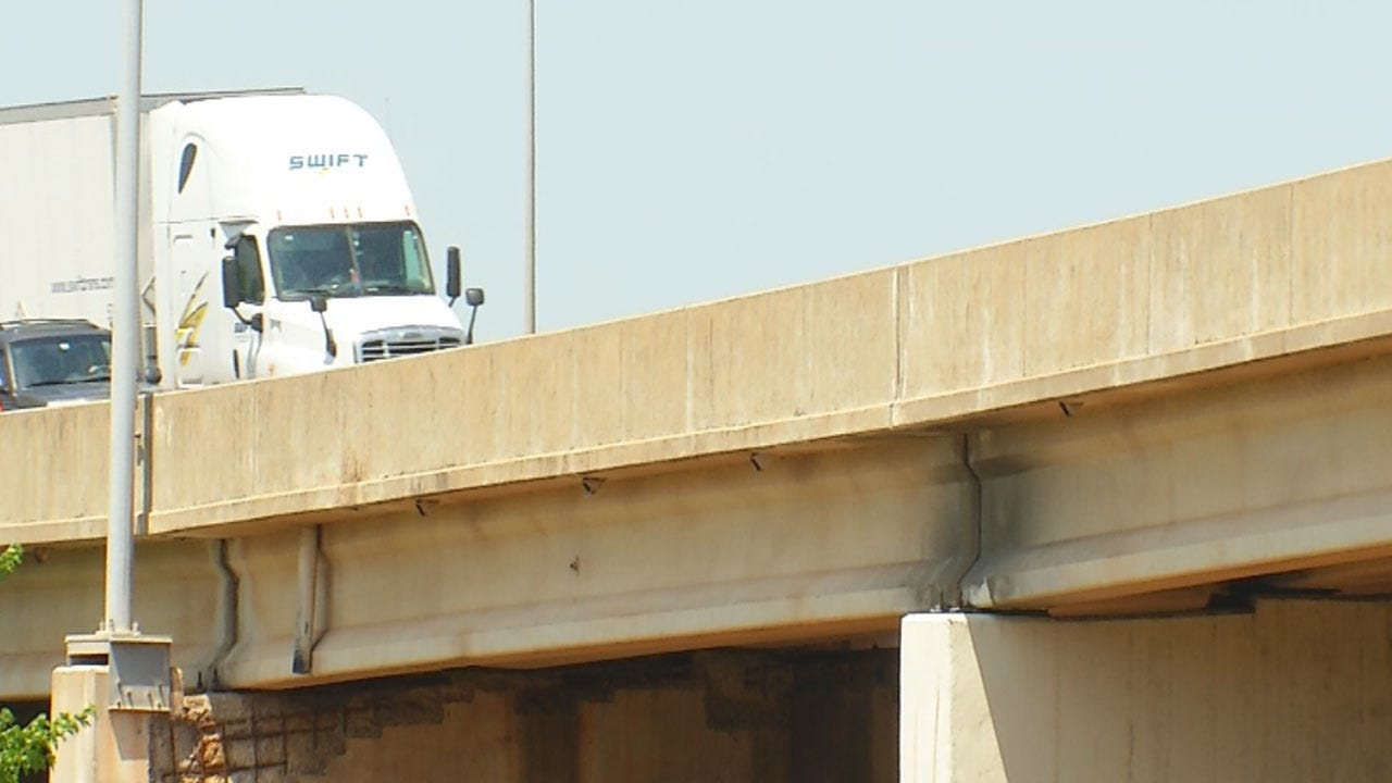 ODOT Crews Inspect Bridges Following Cushing Quake