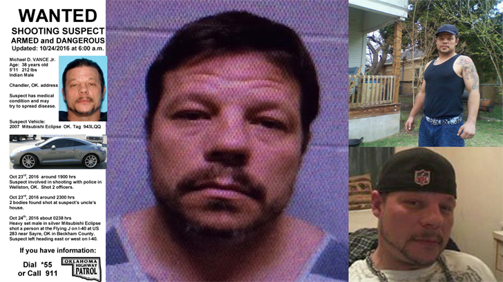 Manhunt Suspect Recently Charged In Child Sex Abuse Case
