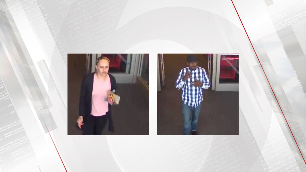 Man, Woman Sought In Connection With Stolen Credit Cards In NW OKC