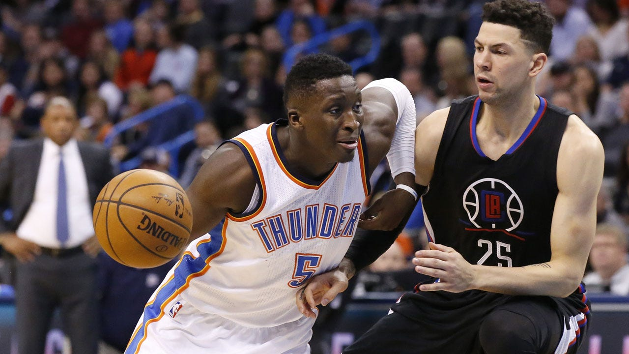 Oladipo's Clutch Jumper Lifts Thunder To Win Over T'Wolves
