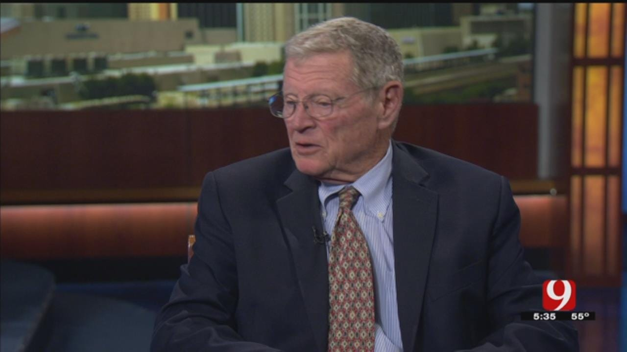 Inhofe Differs From OK Congressmen On Knowledge Of Syria Strike