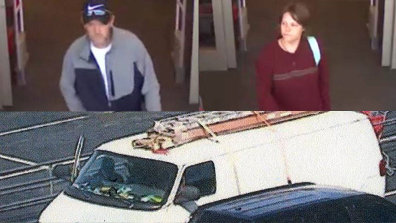 Man, Woman Suspected In Theft Of Electronics From OKC Store