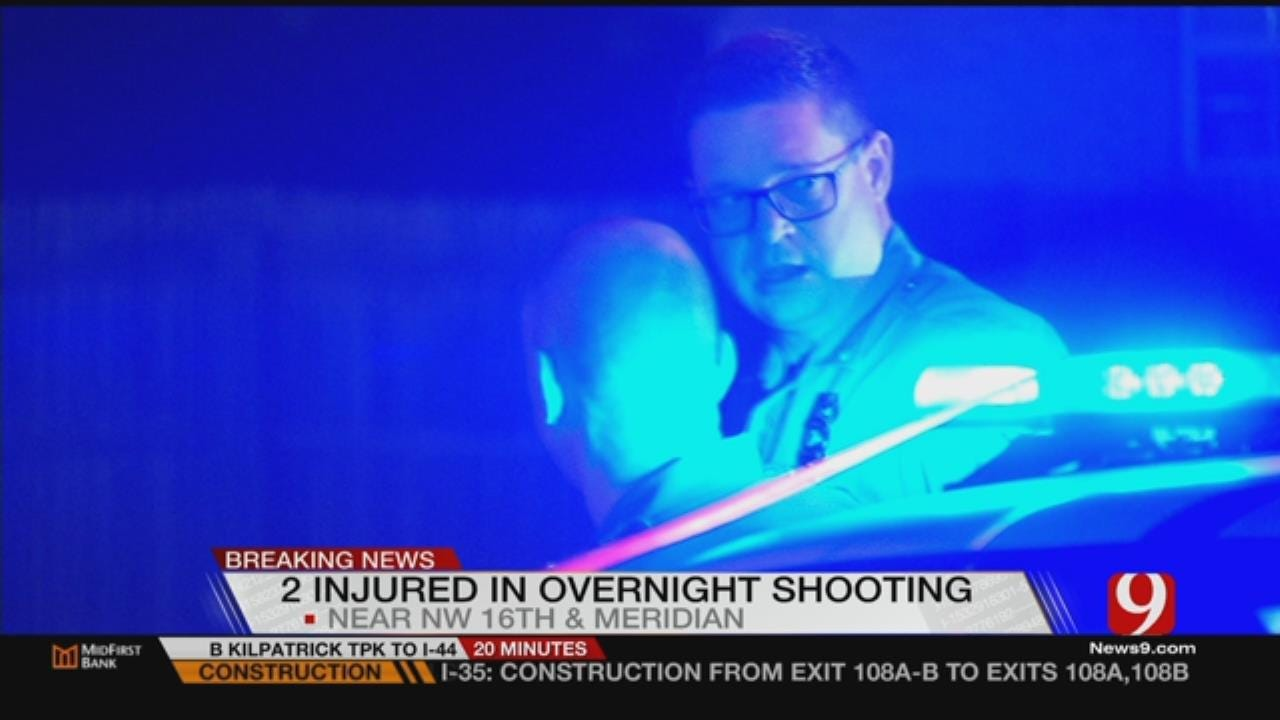 Two Shot Overnight In NW OKC