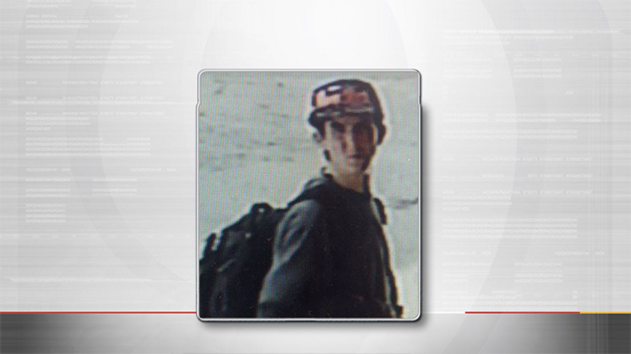 Man Suspected In Theft Of Surveillance Camera From OKC Business