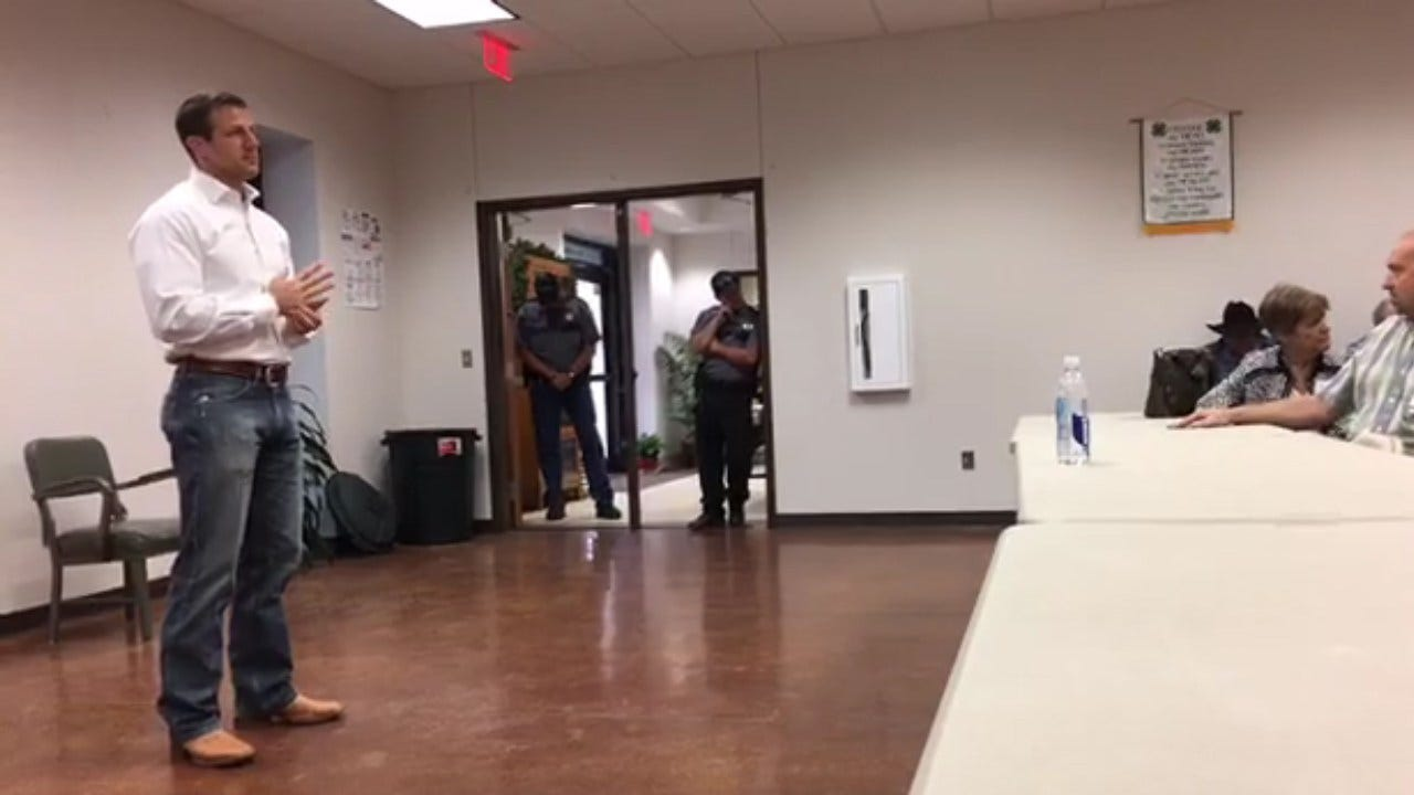 OK Congressmen Increase Security For Protesters At Town Hall Events