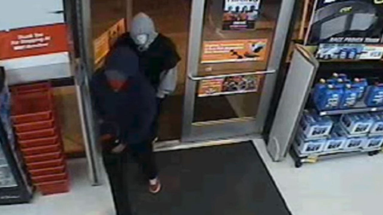 OKC Police Search For Men Believed Involved In Multiple Armed Robberies