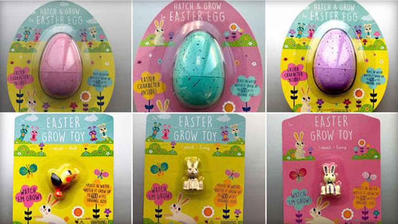 Target Recalls Water-Absorbing Easter & Dino Toys For Risk Of Ingestion