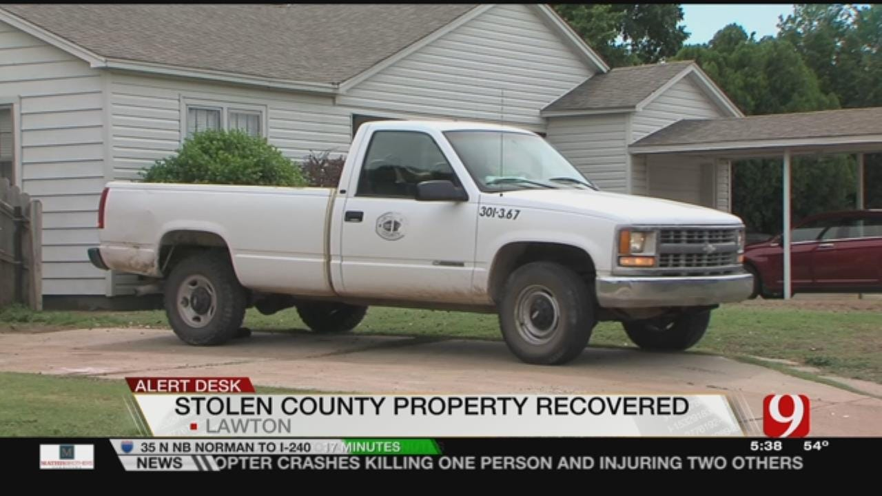 Chase Leads Lawton Police To Home Full Of Stolen Property