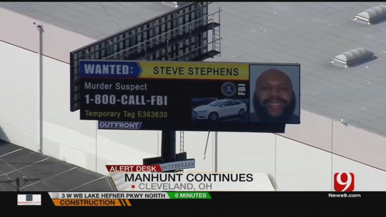 Manhunt For Cleveland Facebook Shooter Expands Nationwide