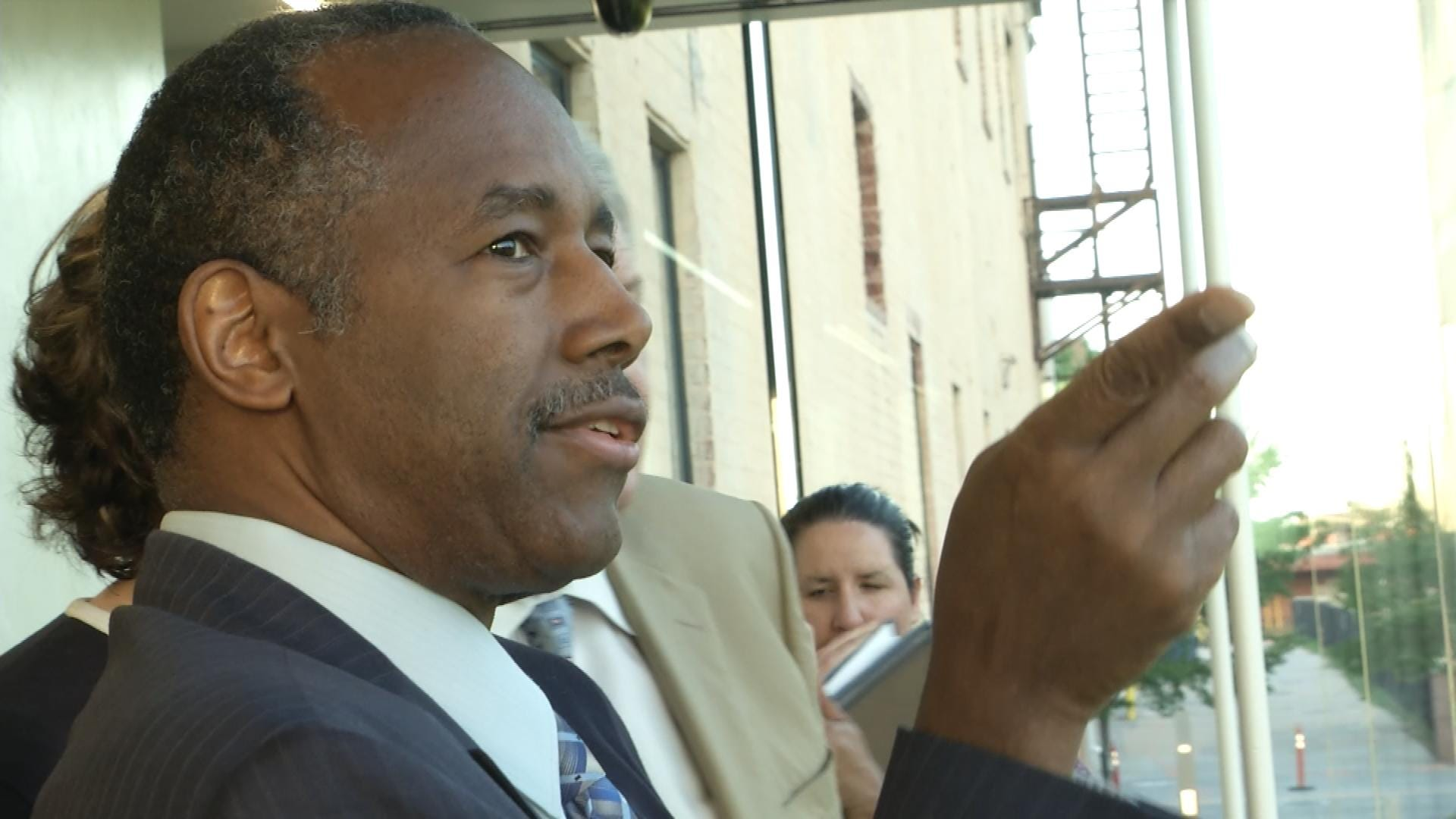 HUD Sec Carson To Speak At Remembrance Ceremony Today