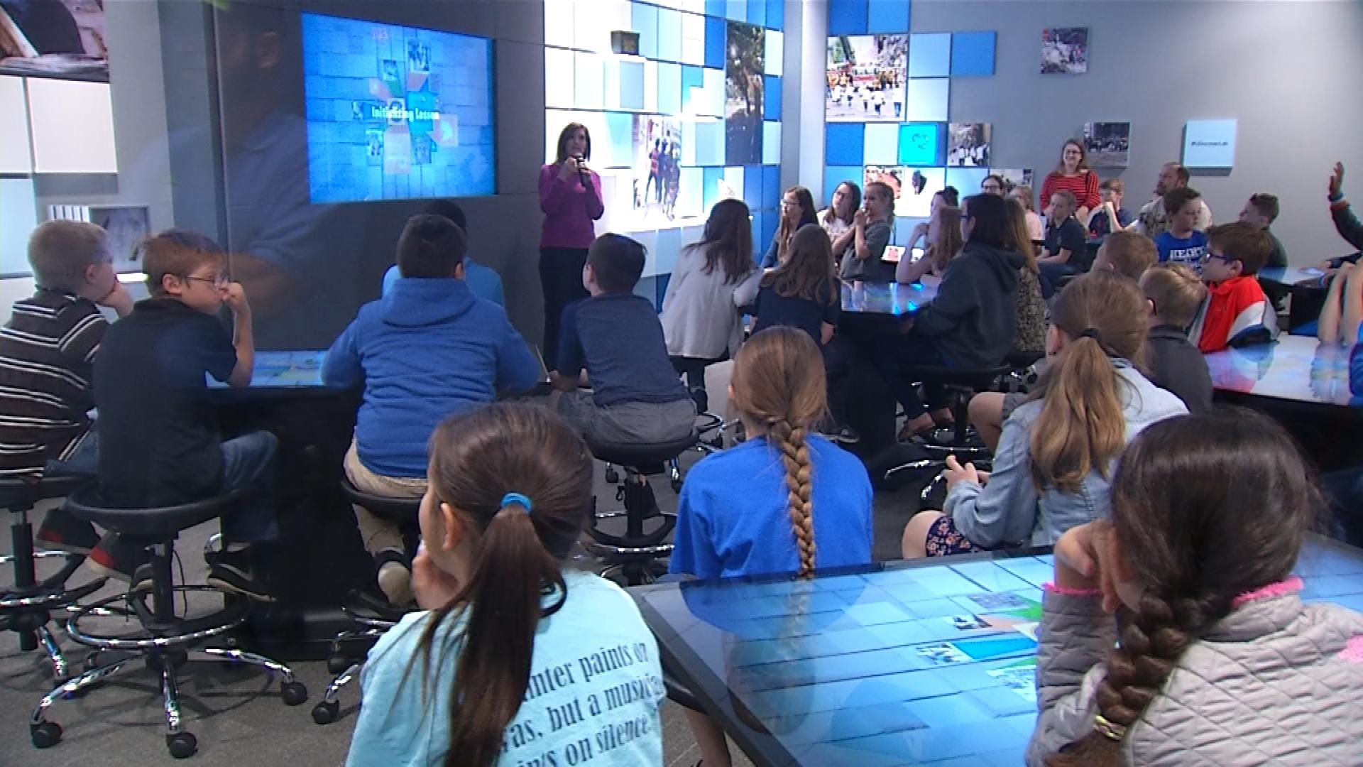 Memorial Learning Lab Offers Hands-On Participation To Students