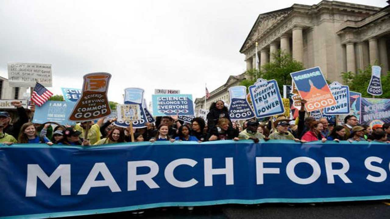 March For Science Spans The Globe, Takes Aim At Trump