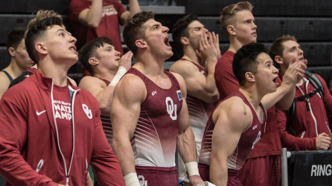 OU Men's Gymnastics Wins Third Straight National Title