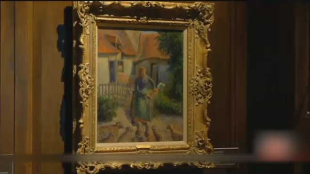 Disputed Painting, Stolen By Nazis, Returns To France
