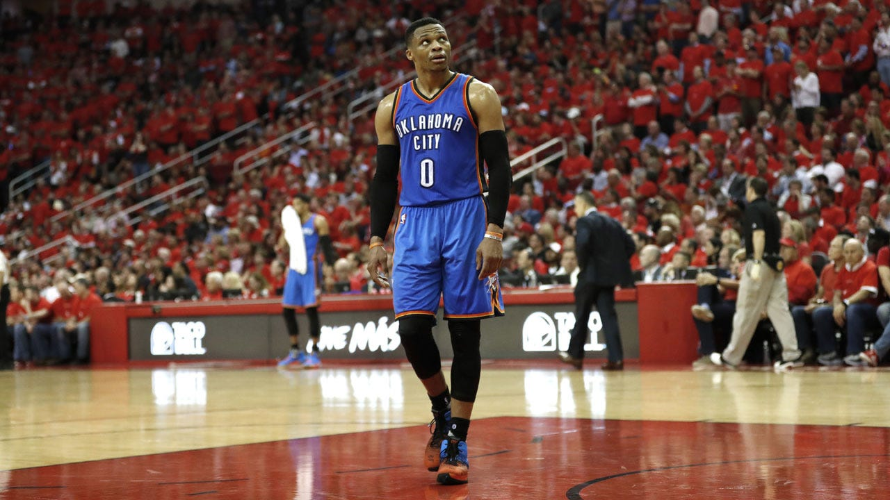 Rockets Eliminate Thunder From Playoffs Despite Westbrook's 47 Points