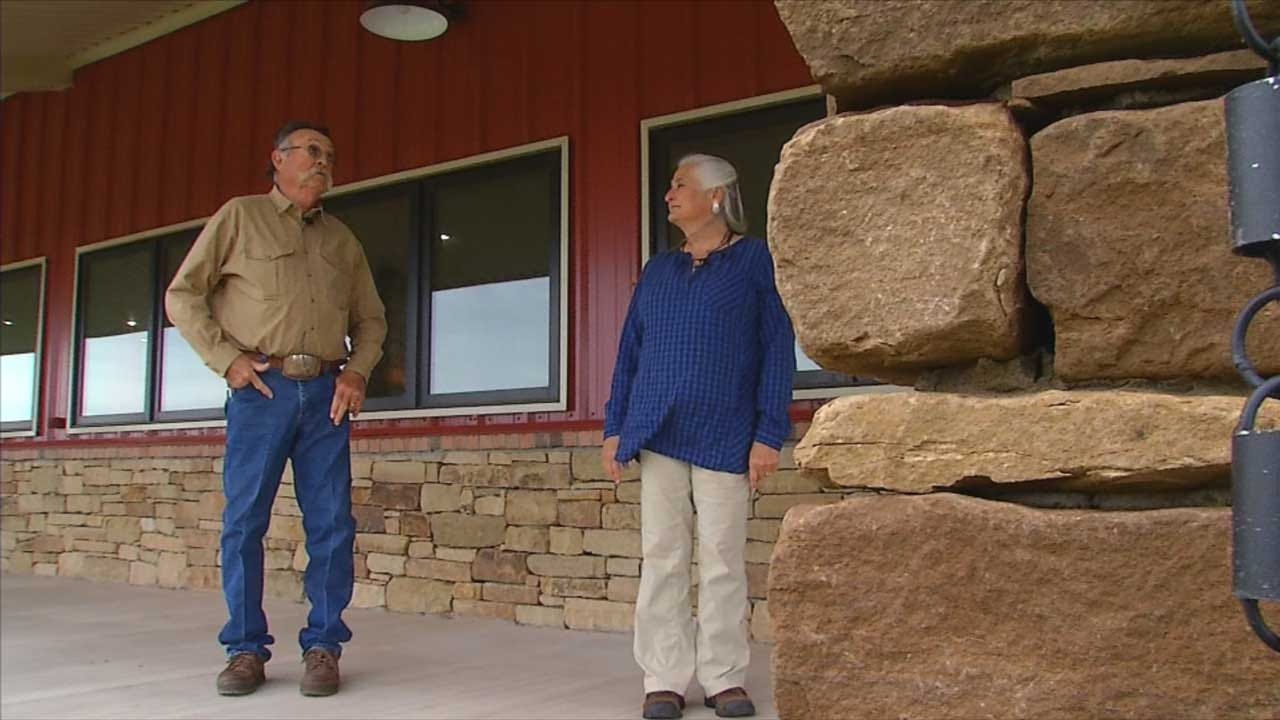 Caddo County Couple Fighting Against Wind Turbines
