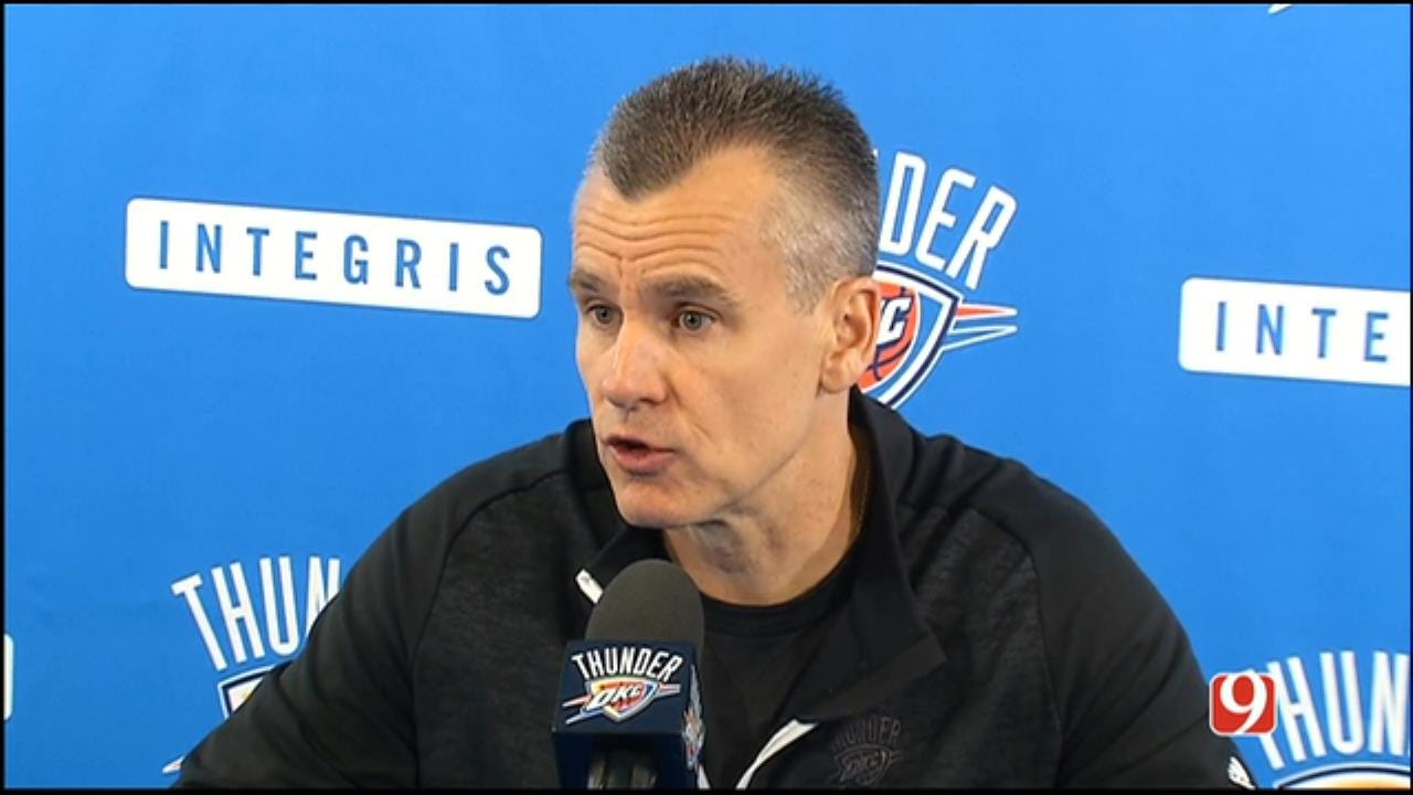 Thunder Coaches, Players Hold Exit Interviews