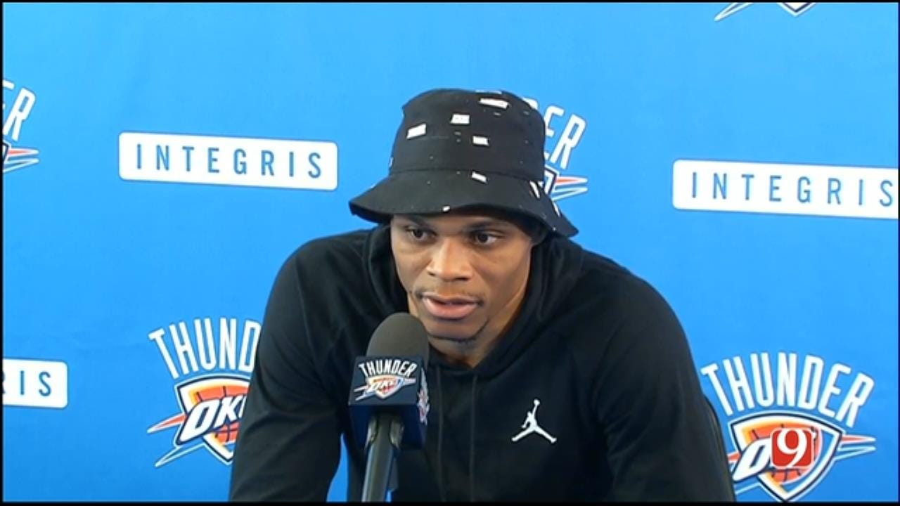 Westbrook On Signing Extension: 'I Haven't Even Thought About That'
