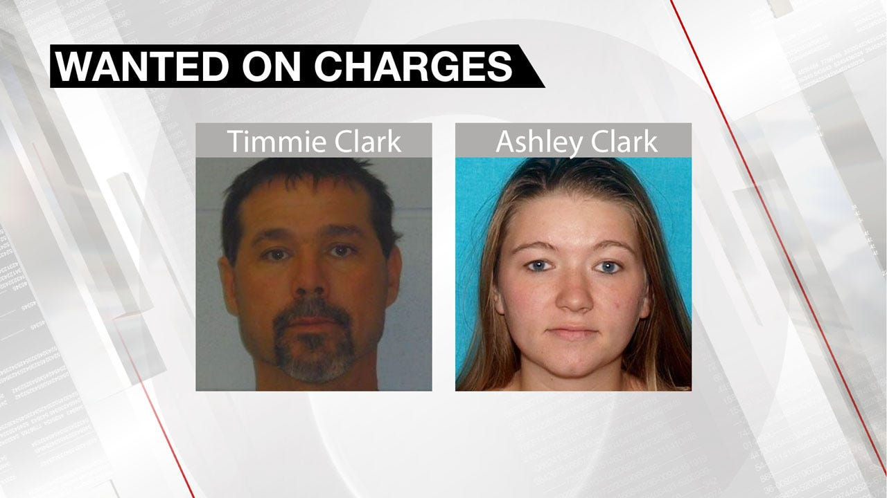 Okmulgee Authorities Searching For Married Couple In Connections With Multiple Charges