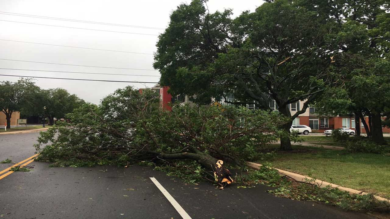 City Of OKC Releases Severe Storm Damage Report