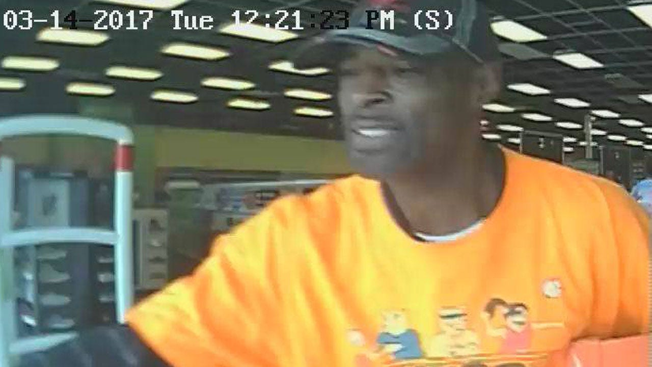 Shoplifter Sought In Theft Of Nike's From Belle Isle Store
