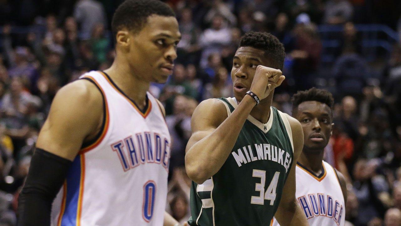 Thunder Hosts Bucks As Westbrook Eyes Robertson's Record