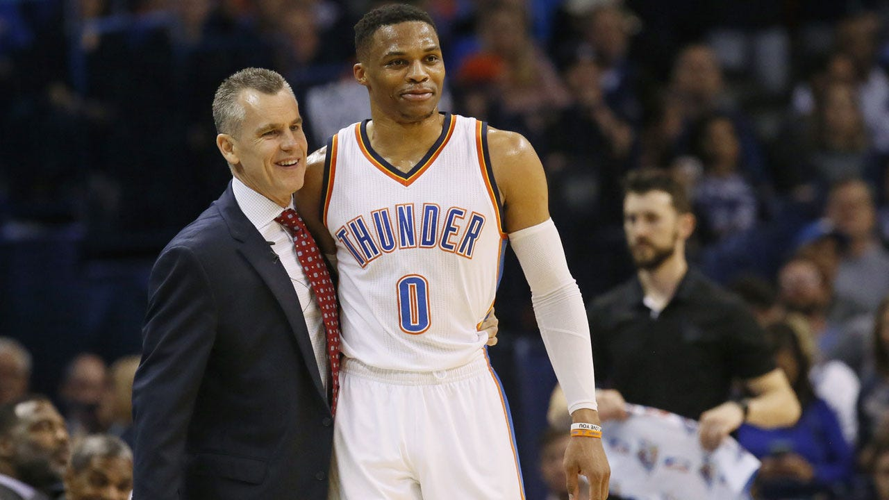 Westbrook's Historic Triple-Double Lifts Thunder To Blow Out Win Over Bucks