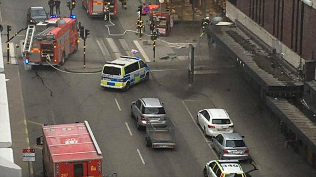 Stockholm Attack: Truck Plows Into Department Store, Kills 2 Pedestrians