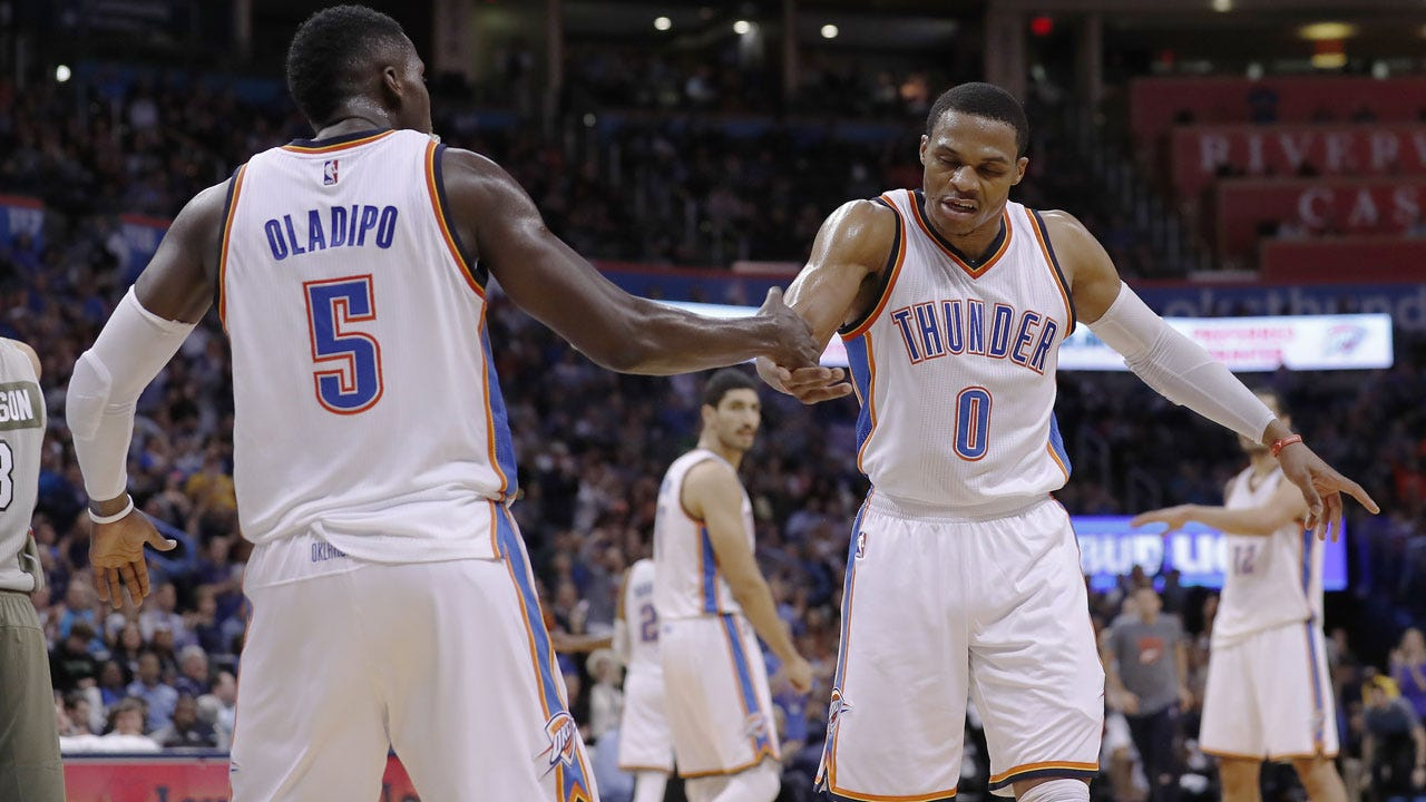 Westbrook, Thunder Face Booker And The Fledgling Suns