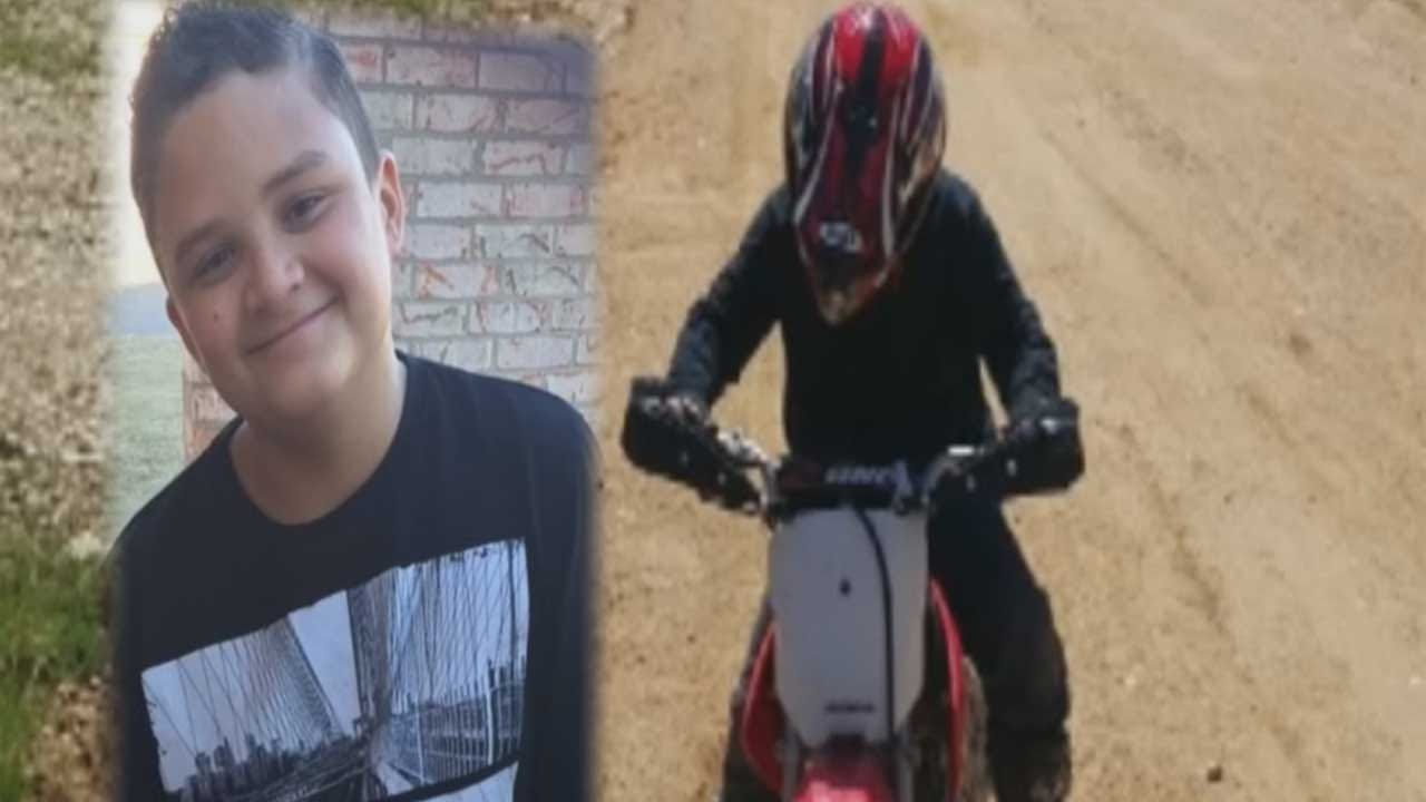 Vigil Held For Boy Who Died After NW OKC Crash