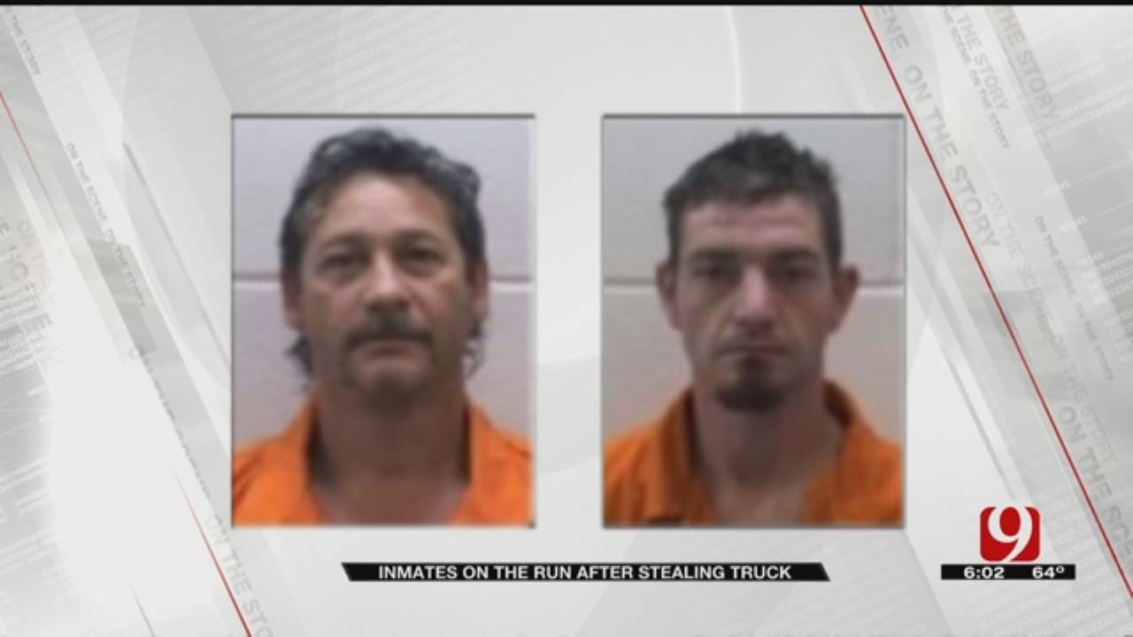Search Over For Two Pontotoc County Jail Escapees