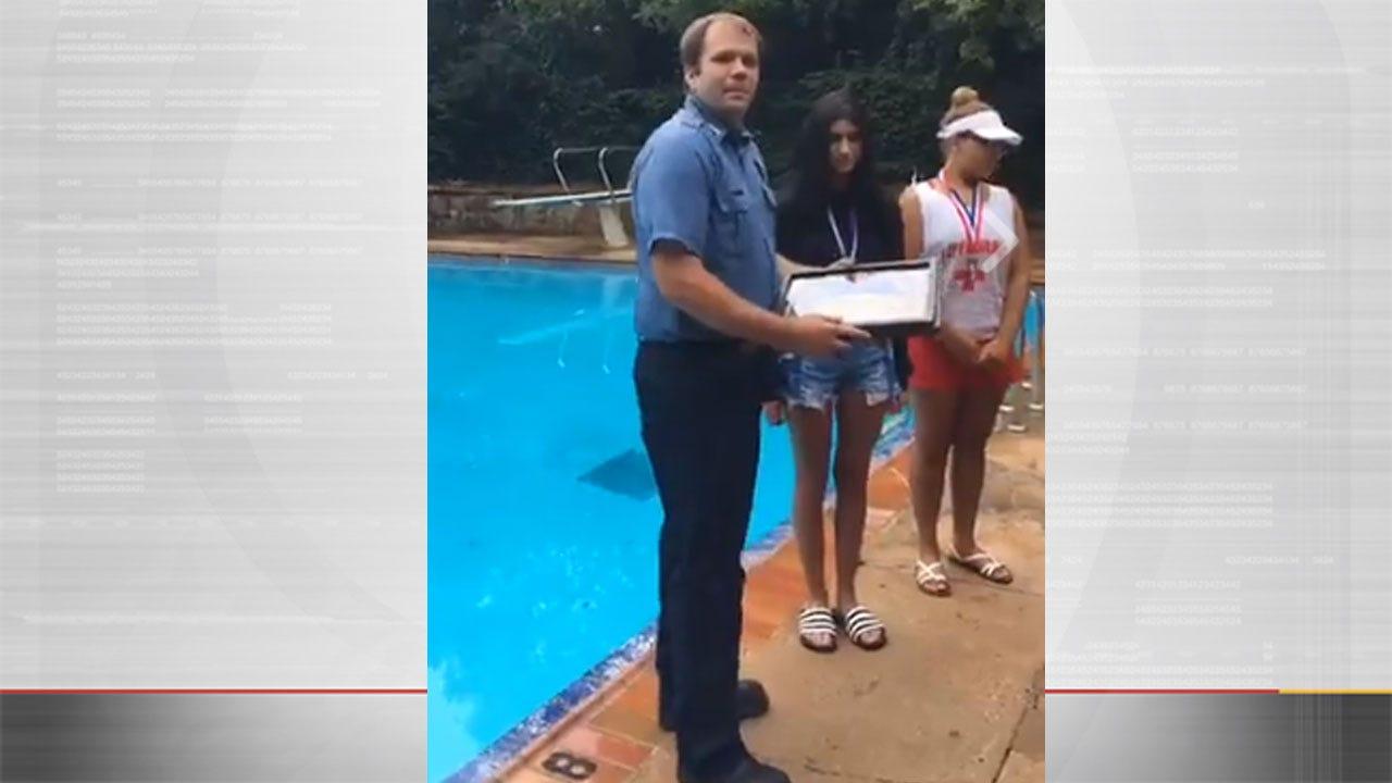OKC Neighborhood Lifeguards Save Boy On First Day On Job