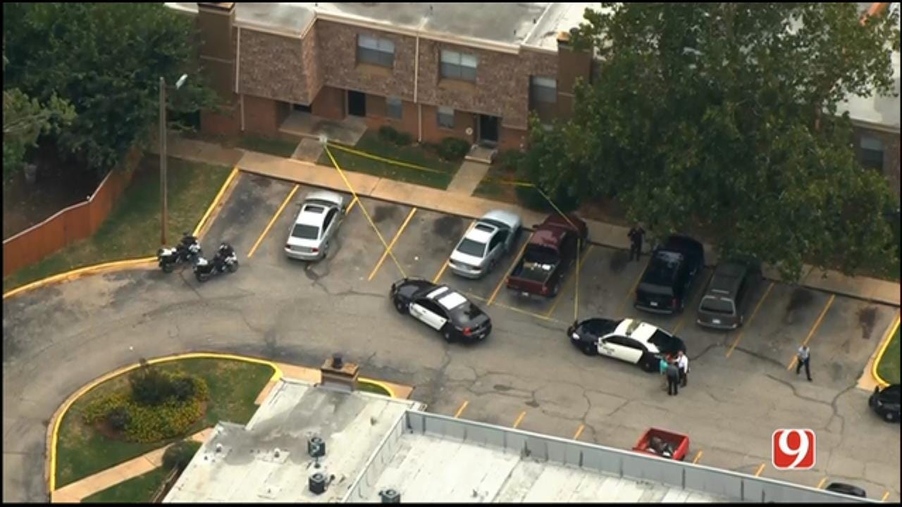 Police Respond To Domestic Shooting In MWC