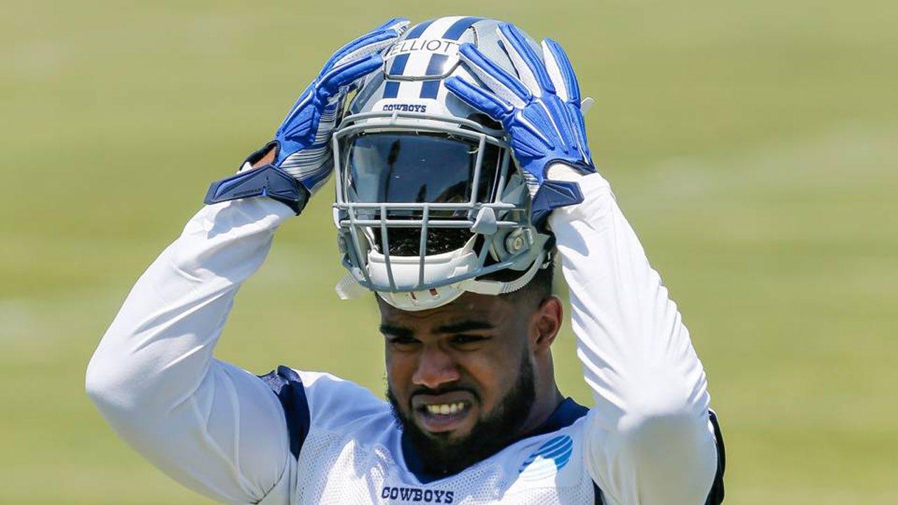 Cowboys' Ezekiel Elliott Suspended 6 Games For Domestic Violence Allegations