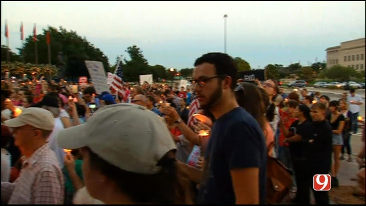 Hundreds Gathered At State Capitol In Solidarity Of Charlottesville, Virginia