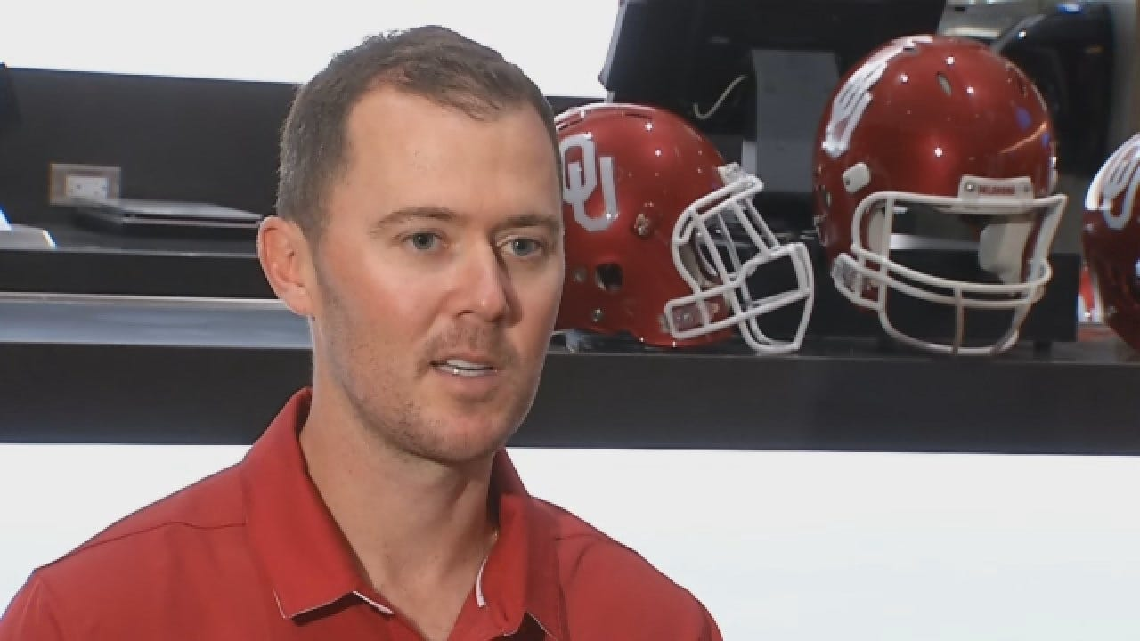 Dean Goes One-On-One With OU's Lincoln Riley