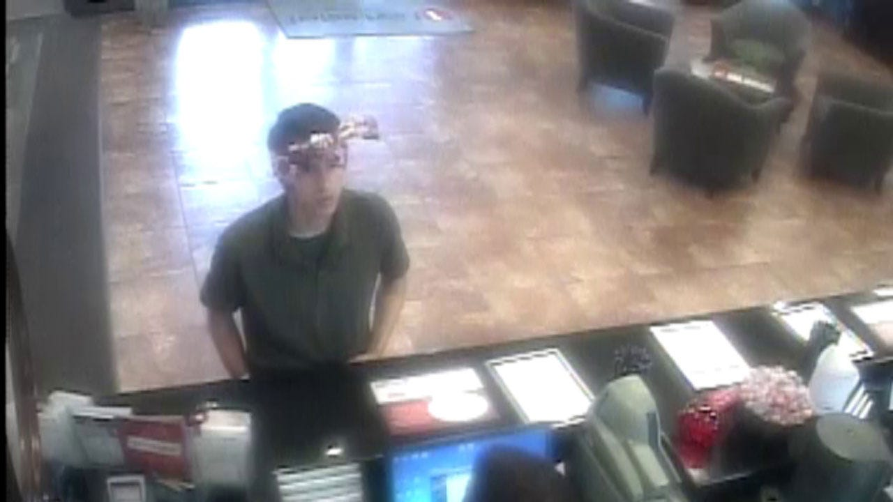 Police Search For Suspect In Newcastle Bank Robbery