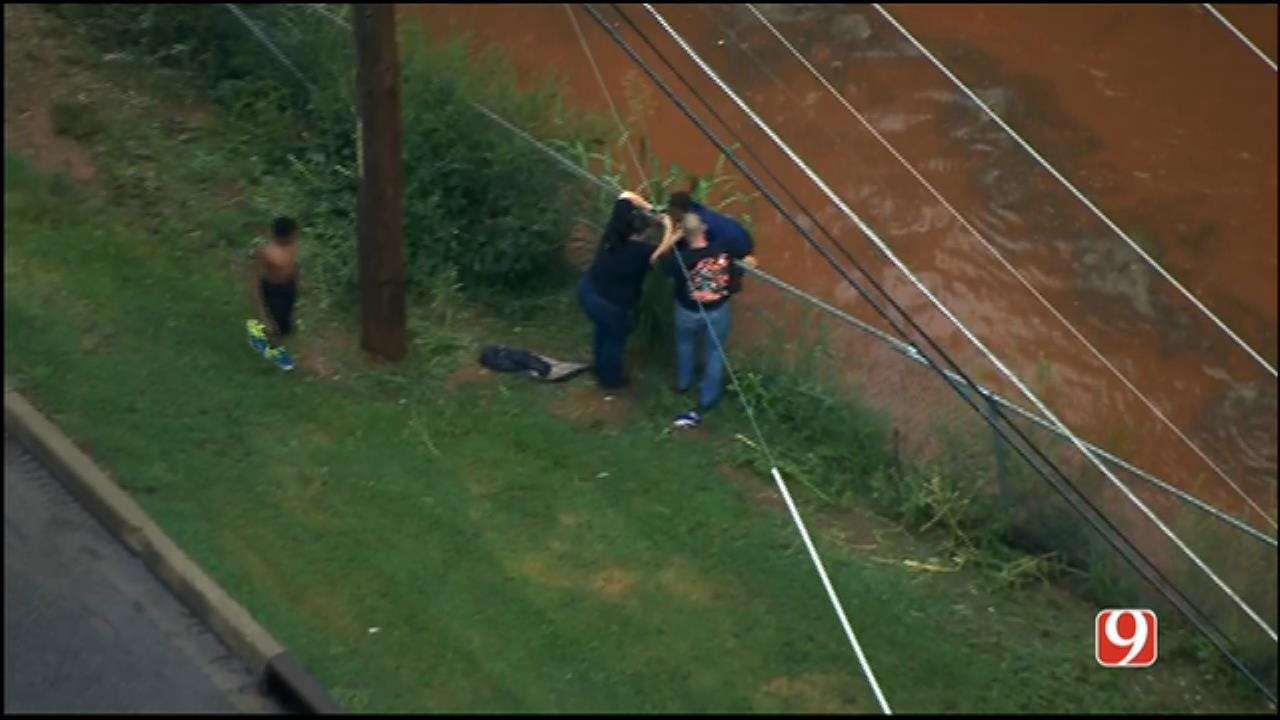 3 Children Rescued From SE OKC Floodwaters
