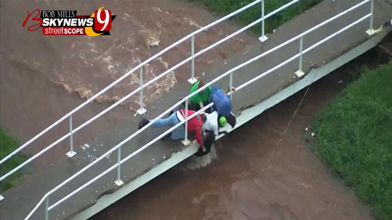 Good Samaritans Rescue Children From Swollen Creek In SE OKC