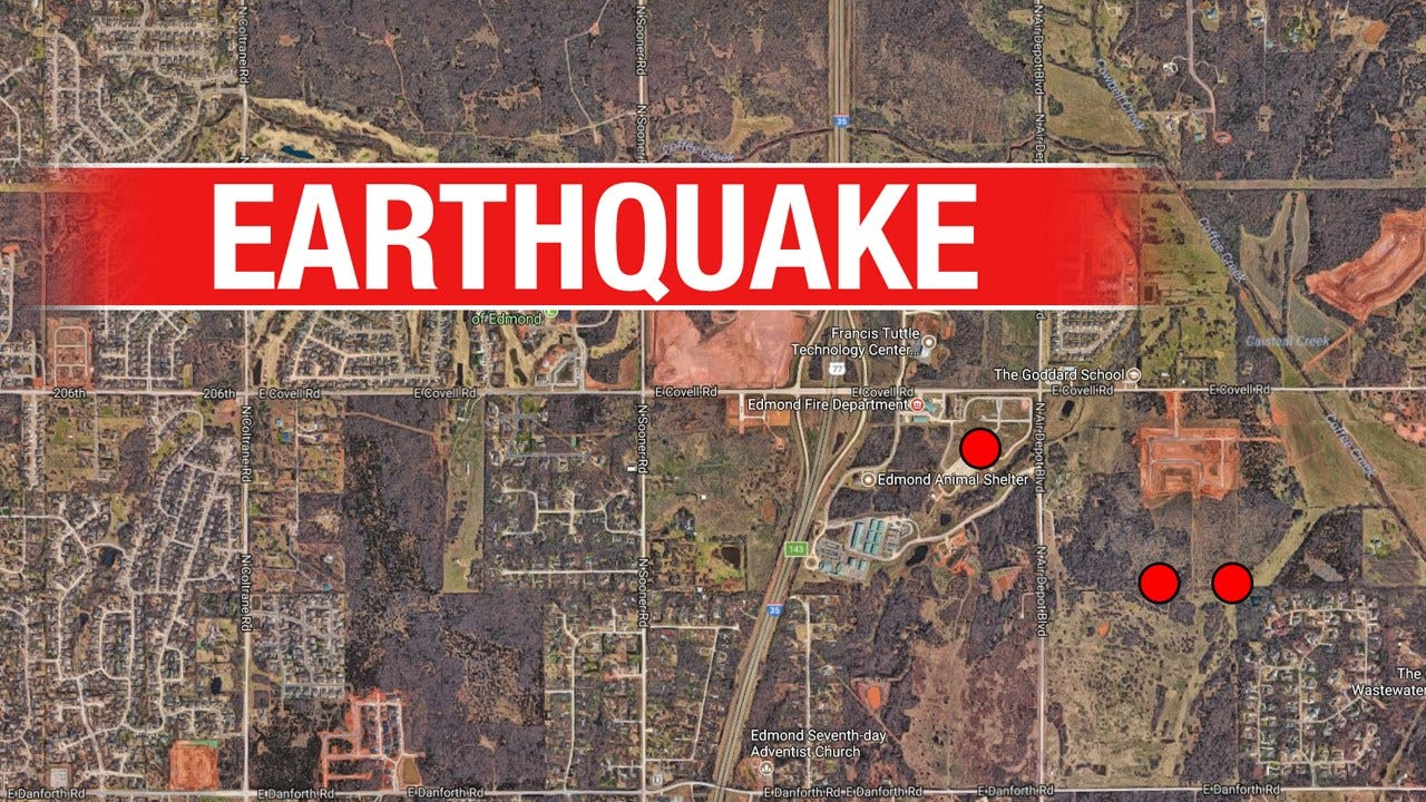 Cluster Of Small Quakes Shakes In North Edmond