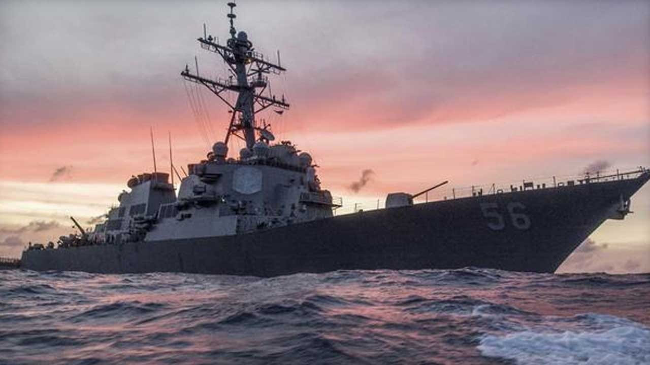 10 Missing After US Navy Destroyer Collides With Merchant Ship