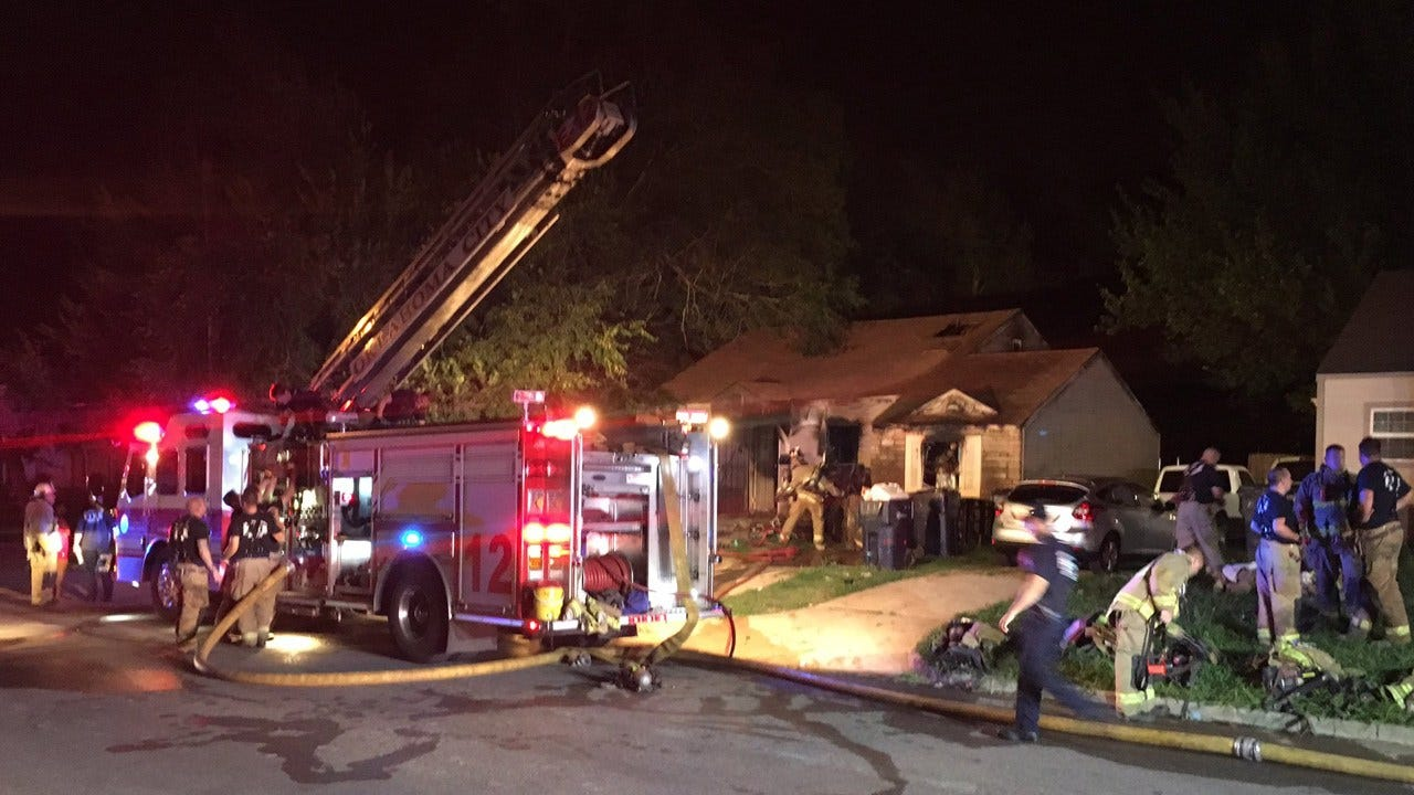 Crews Called To House Fire In NE OKC