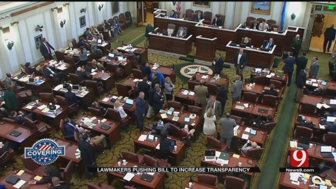 Some Oklahoma Legislators Push Bill For Increased Transparency
